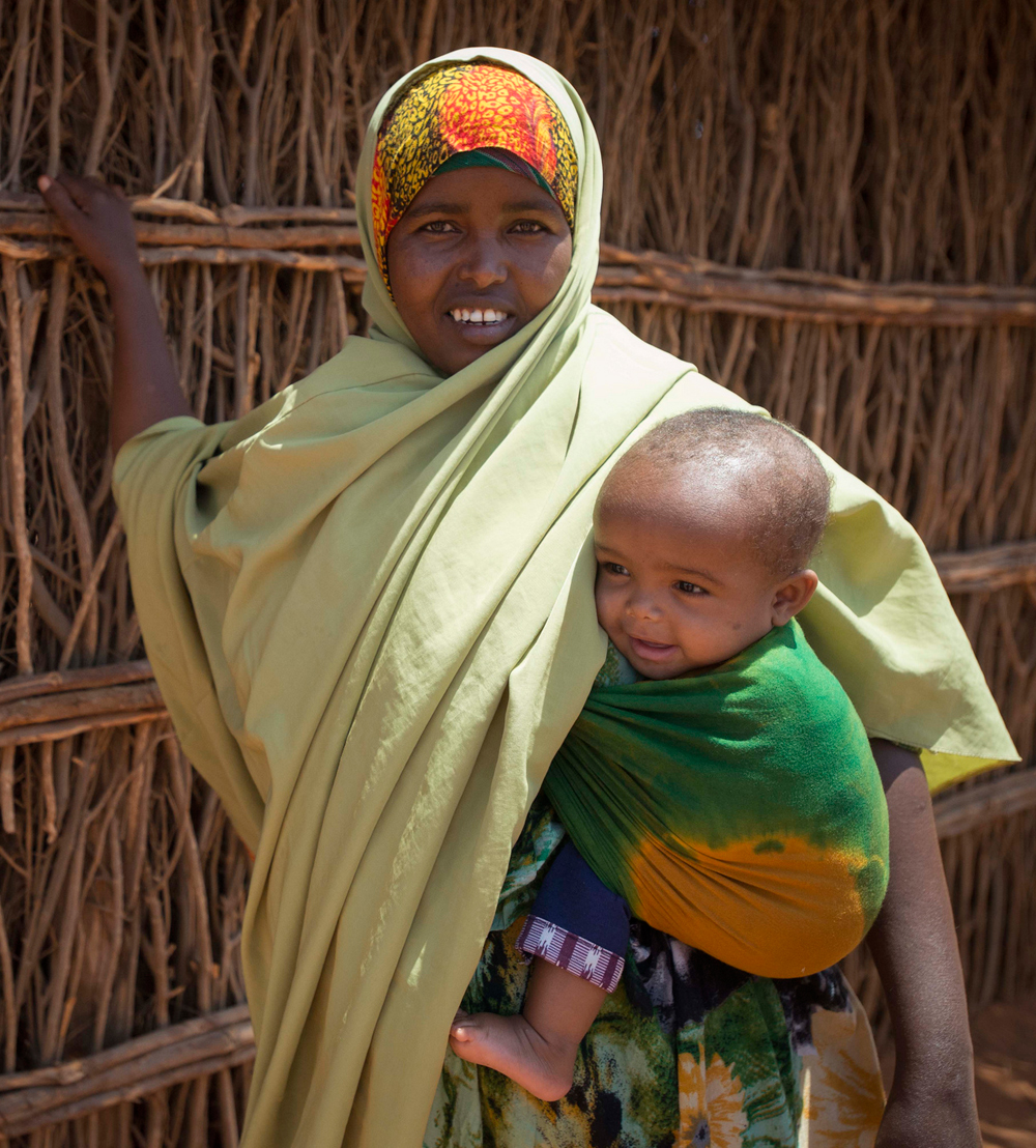 Chaque jour Salad se démène pour sauver les mères et leurs bébésCrédits : Trocaire