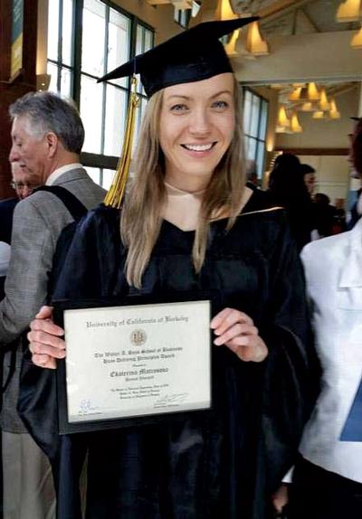 Kate Matrosova avait un parcours brillantCrédits : Charlie Farhoodi