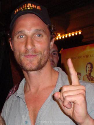 McConaughey est un acteur à part de HollywoodCrédits : Wikipédia