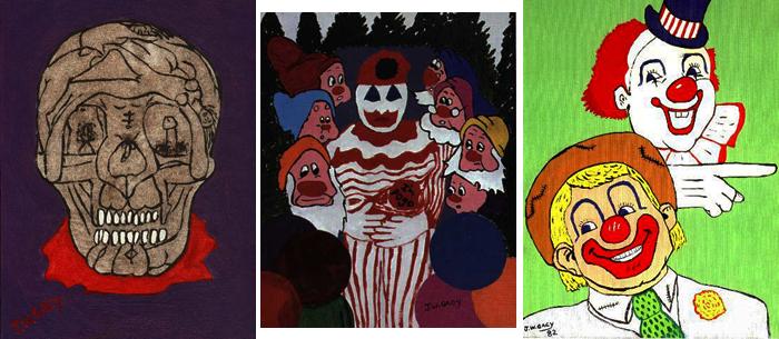 Gacy, sa vie, ses meurtres et ses tableaux continuent de fasciner