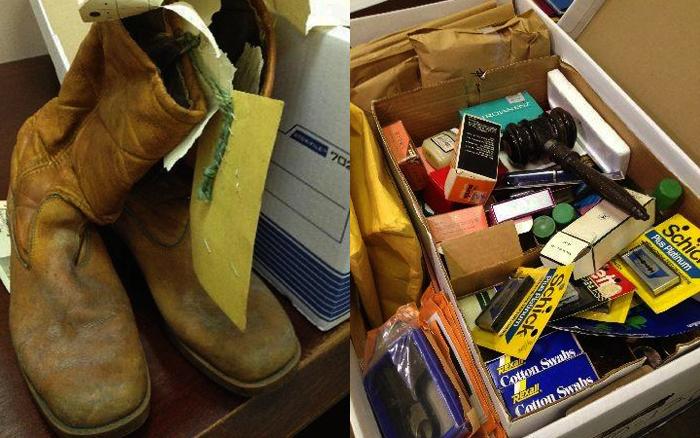 Les preuves collectées chez Gacy sont encore stockées par la police