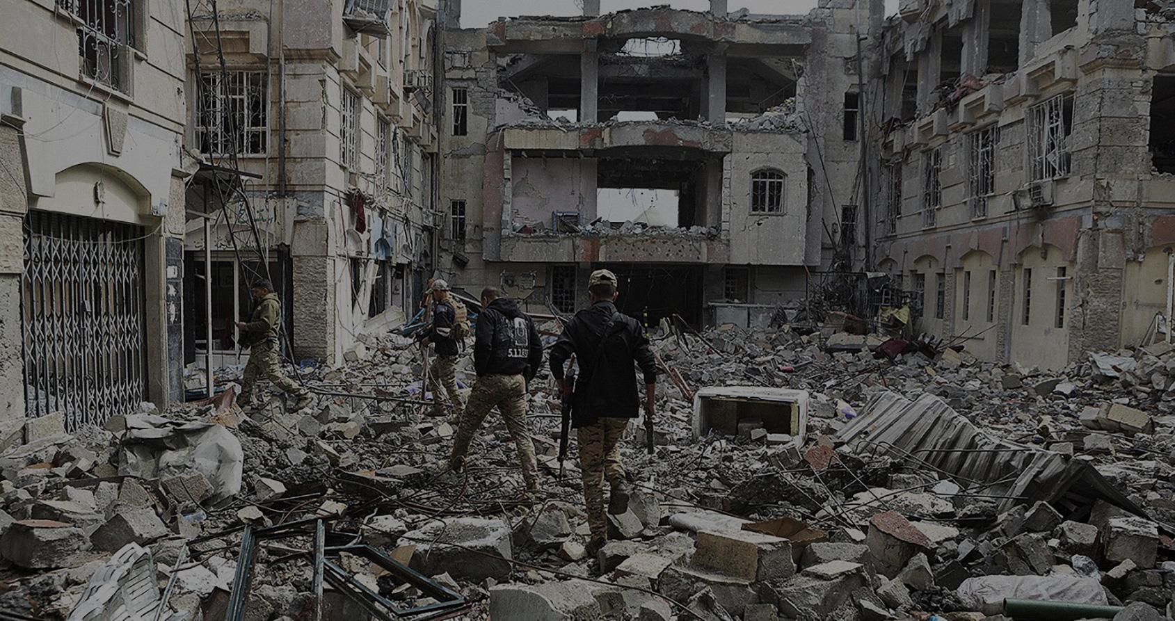 Au cœur de la bataille pour Mossoul-Ouest