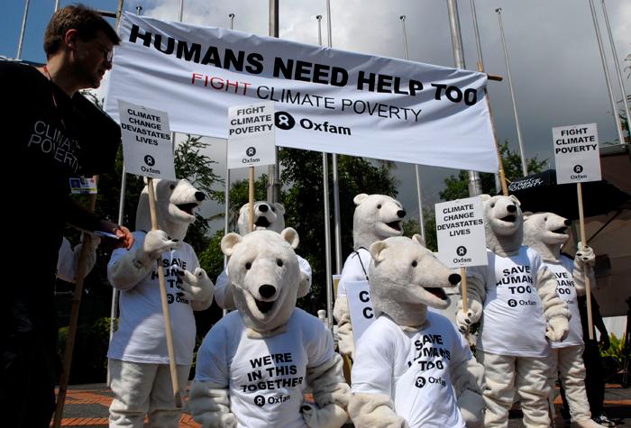 L'ours polaire est devenu un symbole de ralliement pour les défenseurs de l'nvironnementCrédits