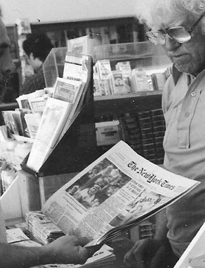 Un acheteur du New York TimesCrédits
