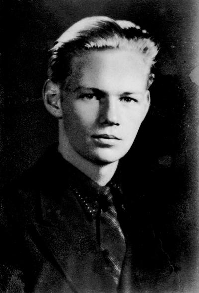 George Price quand il était jeune