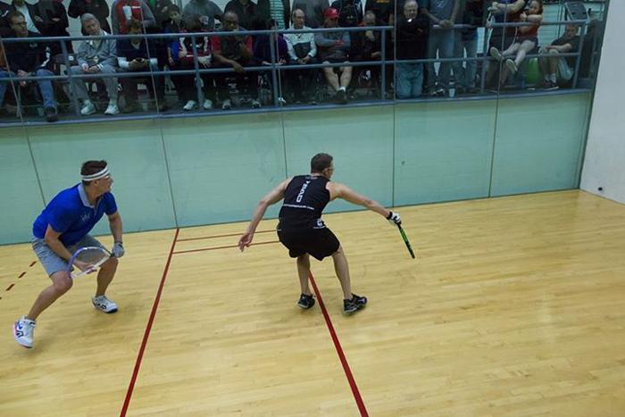 Le racquetball est un sport ou le physique est primordialCrédits : International Racquetball Tour/Facebook