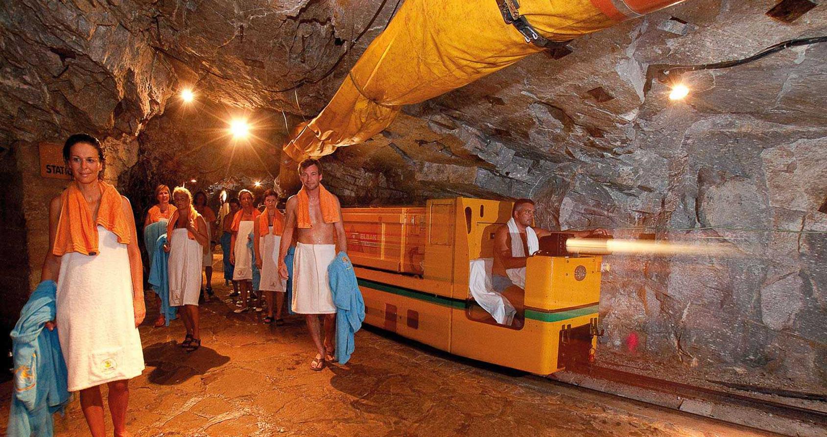 Prendre un bain de radiations dans les Alpes autrichiennes