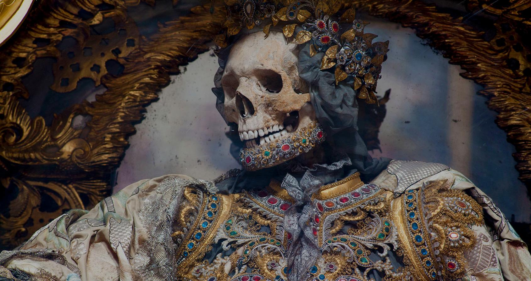 La plus belle œuvre d'art réalisée avec des os humains
