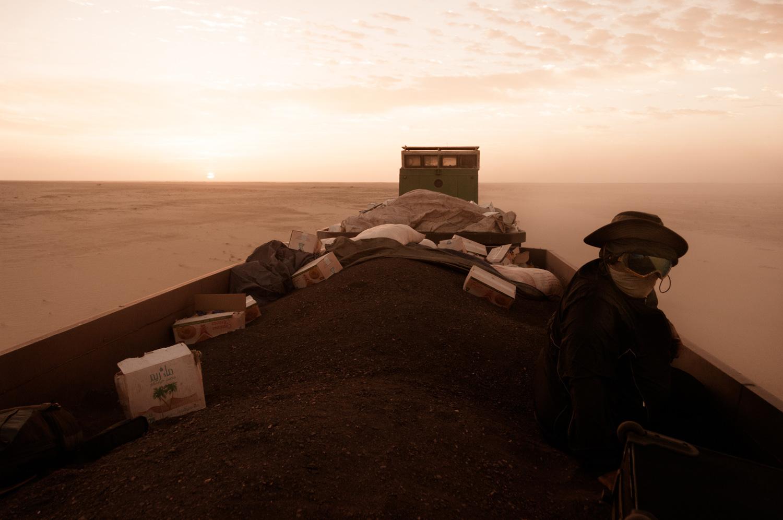 Tempête de poussière Crédits : Michal Huniewicz