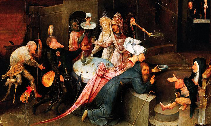 Hieronymus BoschLa Tentation de Saint Anthony entre 1495 et 1515