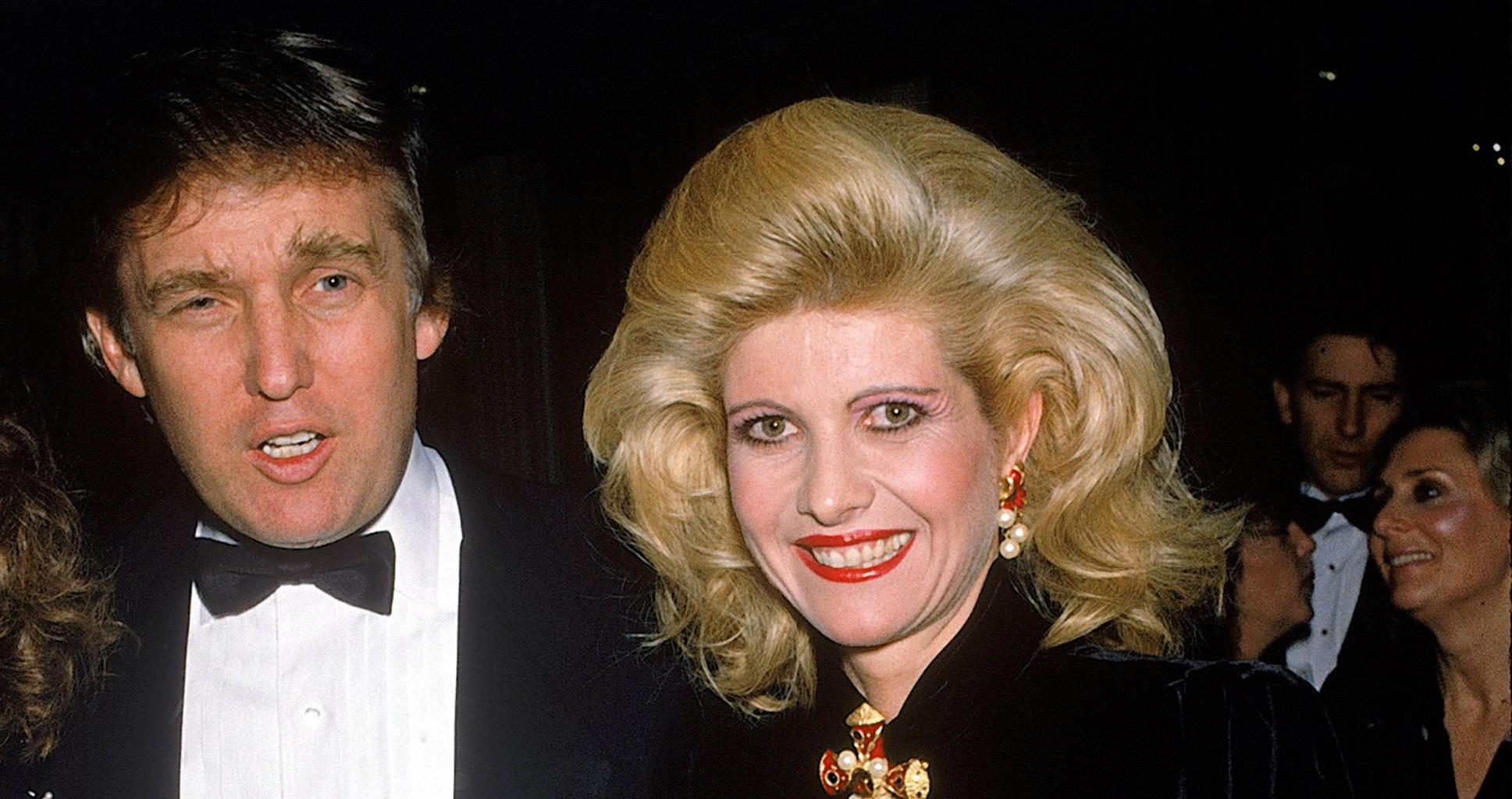 L'odieux divorce de Donald et Ivana Trump