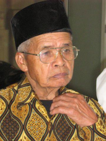 M'Bah Maridjan, guide spirituel du Mont Merapi