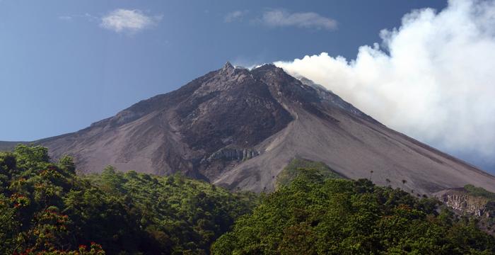 Le Mont Merapi est un des volcans les plus actifs au mondeCrédits