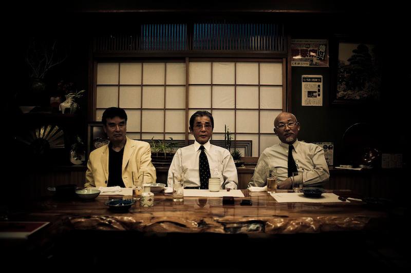 Les trois grands chefs de la famille Shinse-kanCrédits : Anton Kusters