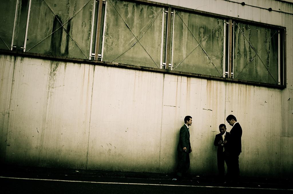 Les Yakuzas s'occupent eux même de la sécurité dans les ruesCrédits : Anton Kusters