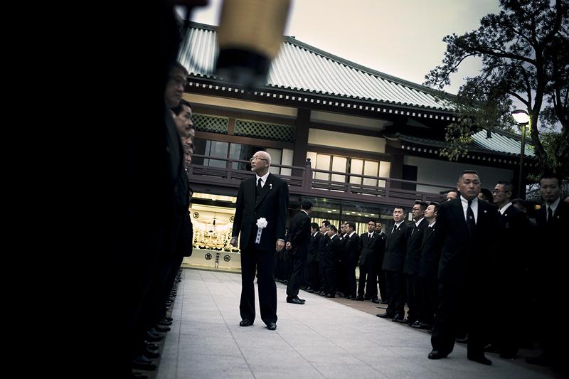 L'ordre et le respect de la hiérarchie sont très importants pour les YakuzasCrédits : Anton Kusters