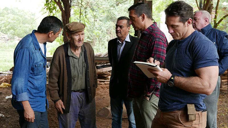 L'équipe continue son enquête en ArgentineCrédits : History Channel