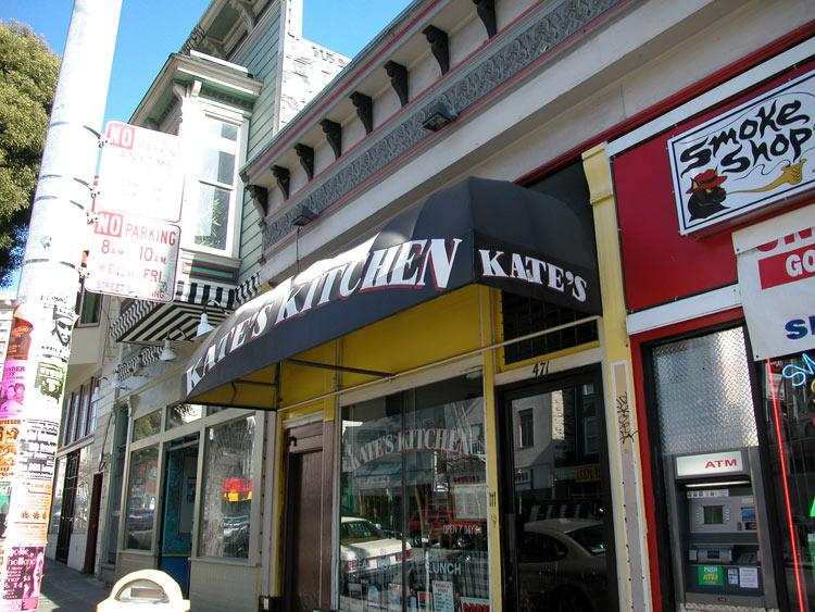 Larry a recroisé la route de Piper au Kate's Kitchen à San Francisco