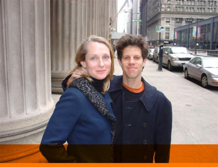 Piper et Larry ot quitté San Francisco pour s'installer sur la côte EstCrédits : Medium