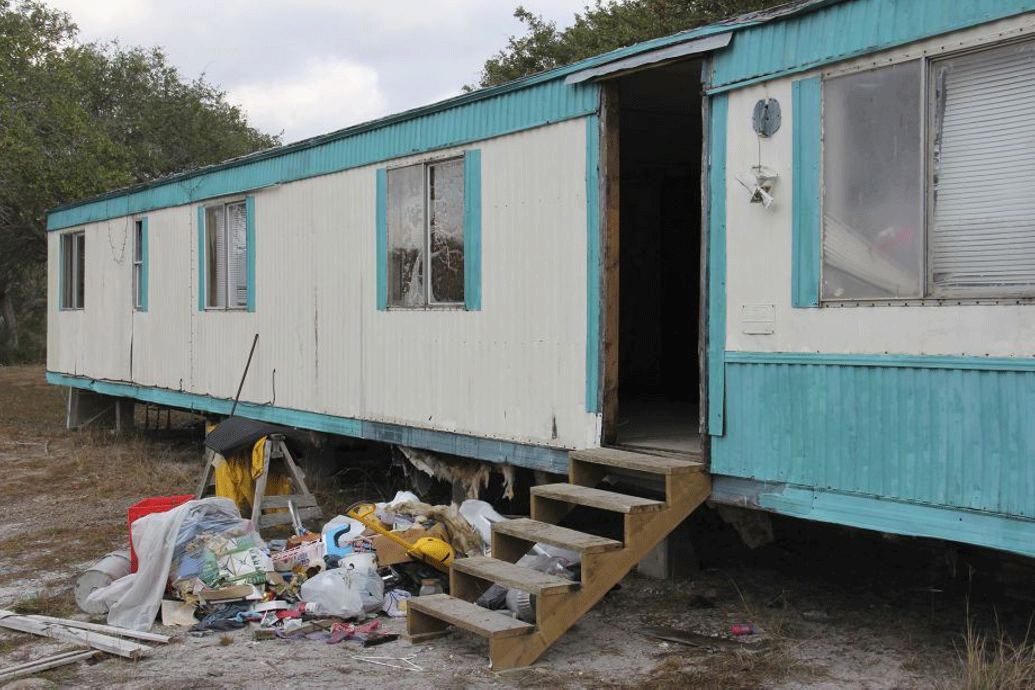 La caravane ou les migrants étaient cachés, sur le terrain de Gilbert ArevaloCrédits : U.S. District Court, Southern District of Texas