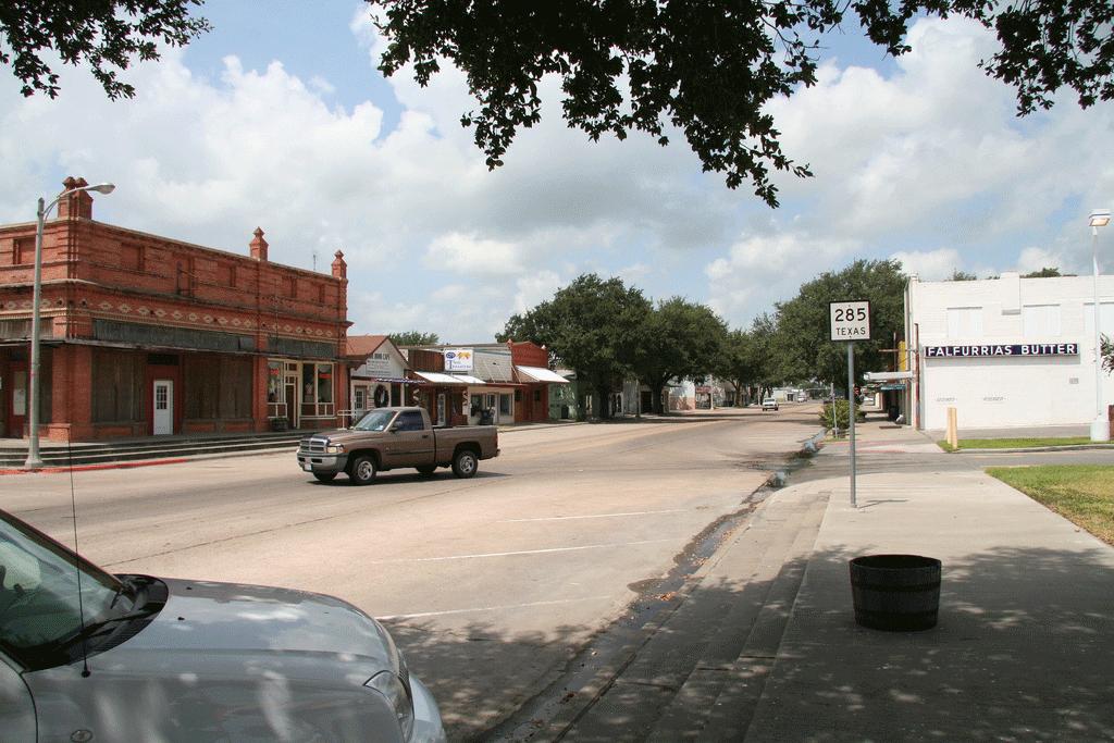 Falfurrias, petite ville près de la frontière mexicaineCrédits