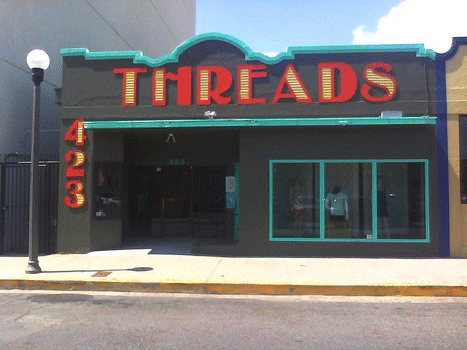 La friperie Threads, en centre-villeCrédits : Threads