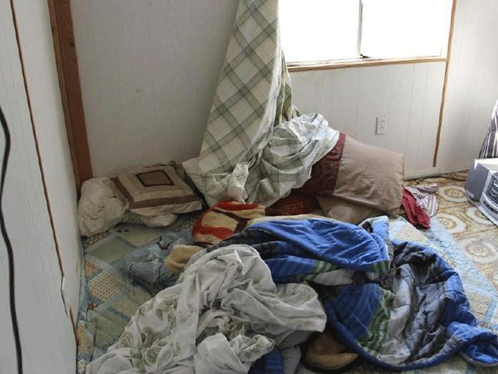 Un des appartements où étaient logés les migrantsU.S. District Court, Southern District of Texas