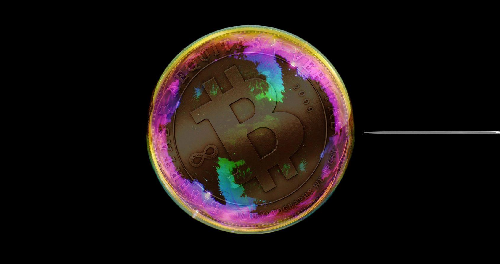 La bulle des cryptomonnaies est-elle en train d'éclater?
