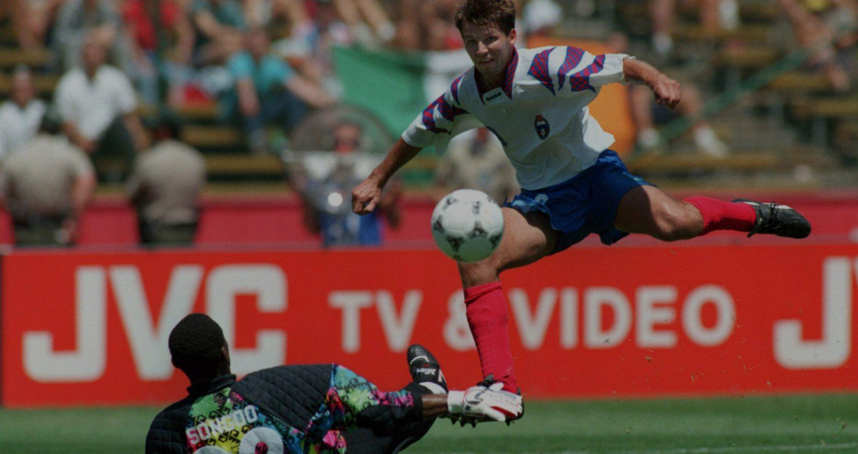 Oleg Salenko: l'épopée inégalée de l'étoile filante du football russe