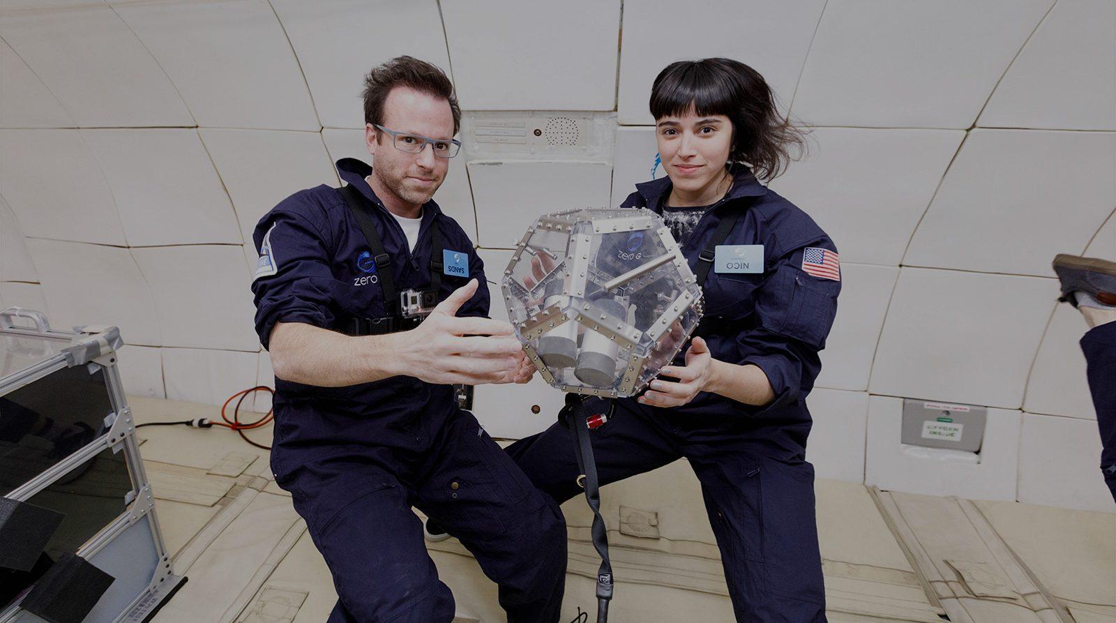 En apesanteur avec les chercheurs qui inventent des instruments de musique spatiaux