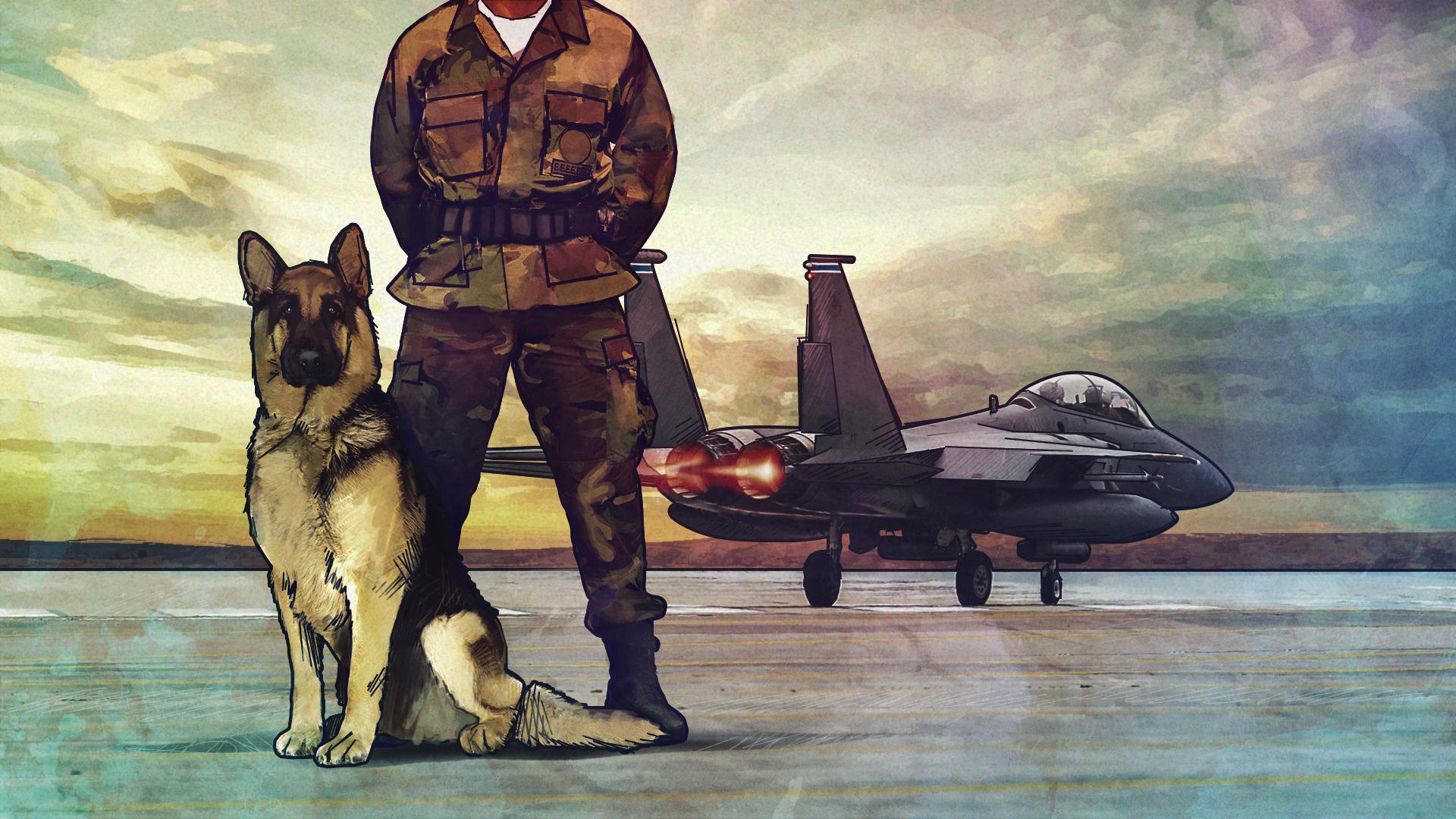 Xxon, le chien qui a redonné vie à un soldat