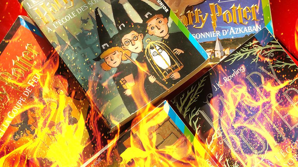 Des Pretres Polonais Ont Brule Des Livres Harry Potter Car