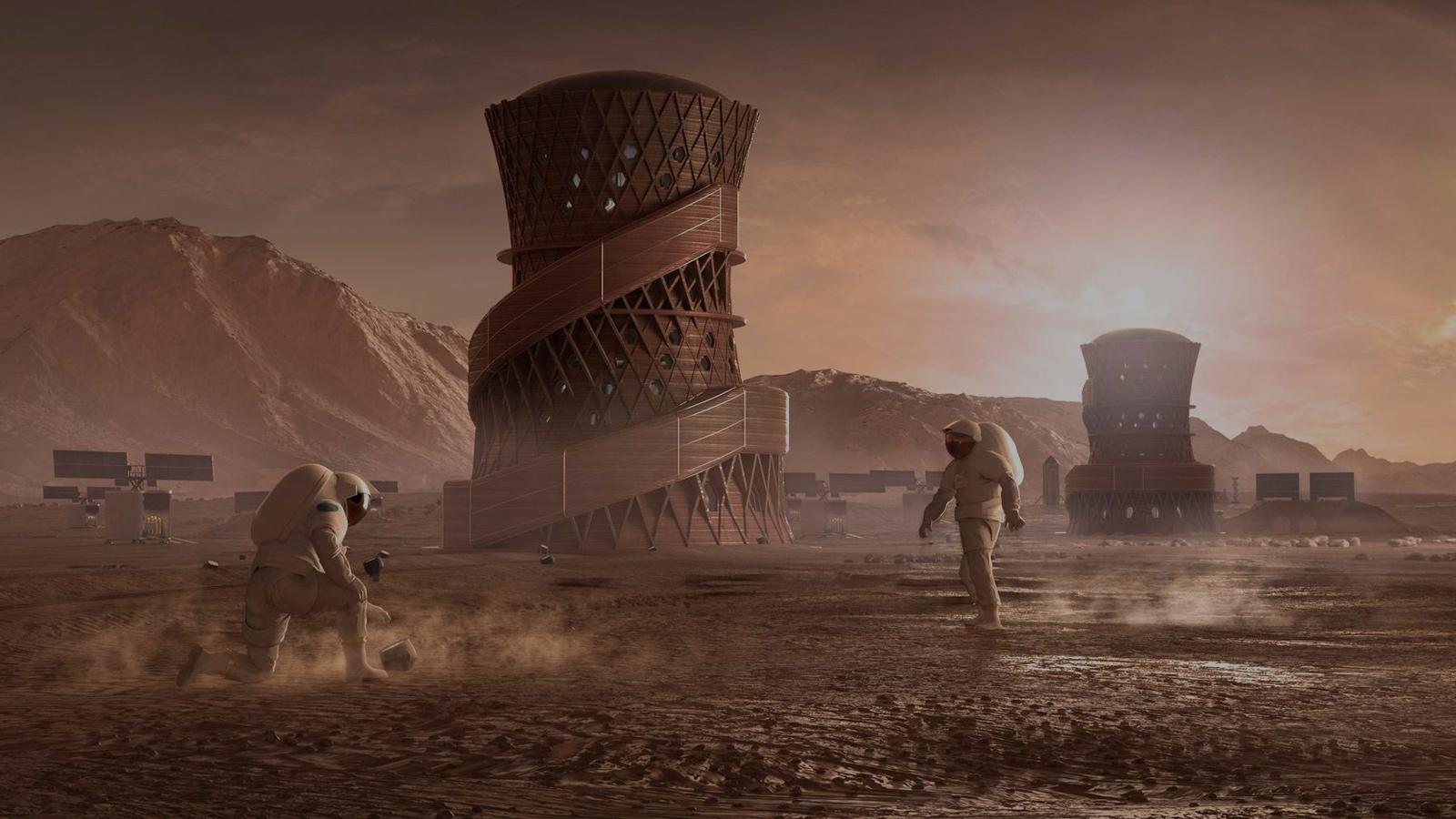 Rencontre avec l'architecte qui conçoit les futures maisons martiennes pour la NASA