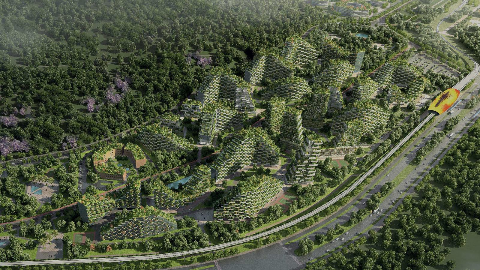 Les secrets de l'architecte qui construit les villes-forêts du futur