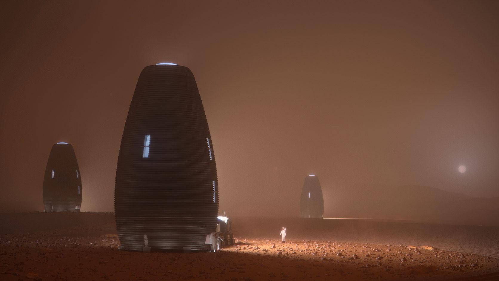 À quoi ressembleront les futurs humains de Mars?