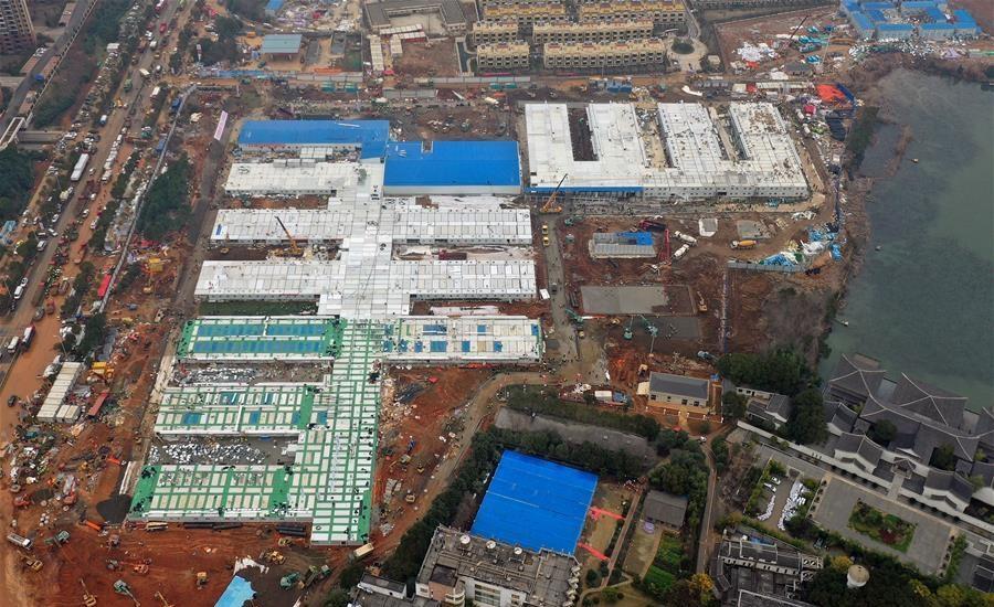 Un des deux hôpitaux chinois construits en urgence est prêt — Coronavirus