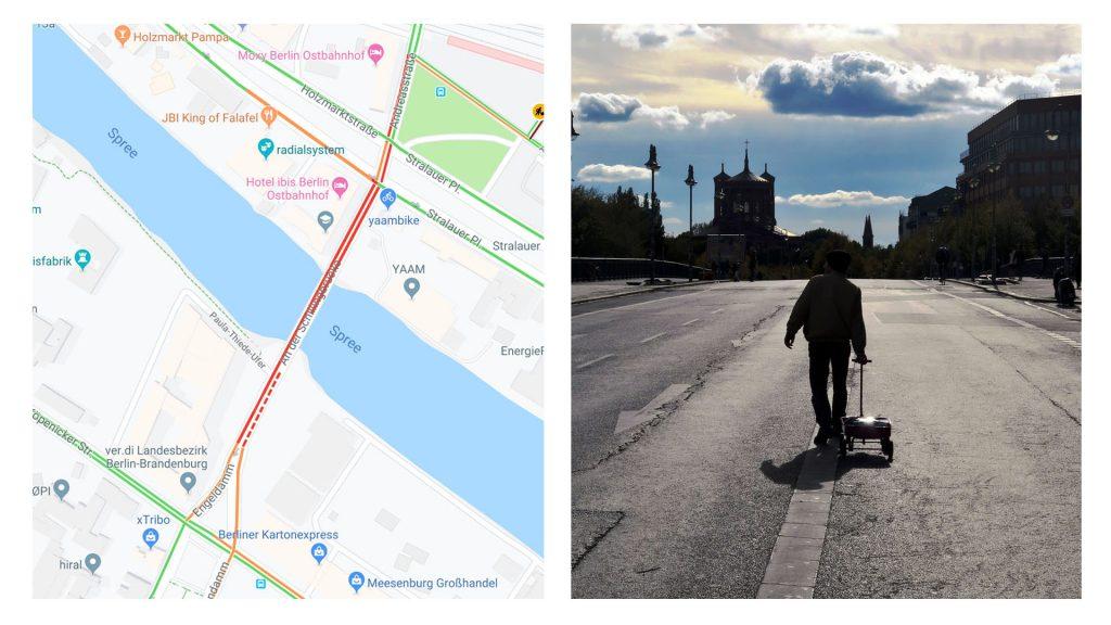 Google Maps : il trimbale 99 smartphones pour générer un embouteillage virtuel