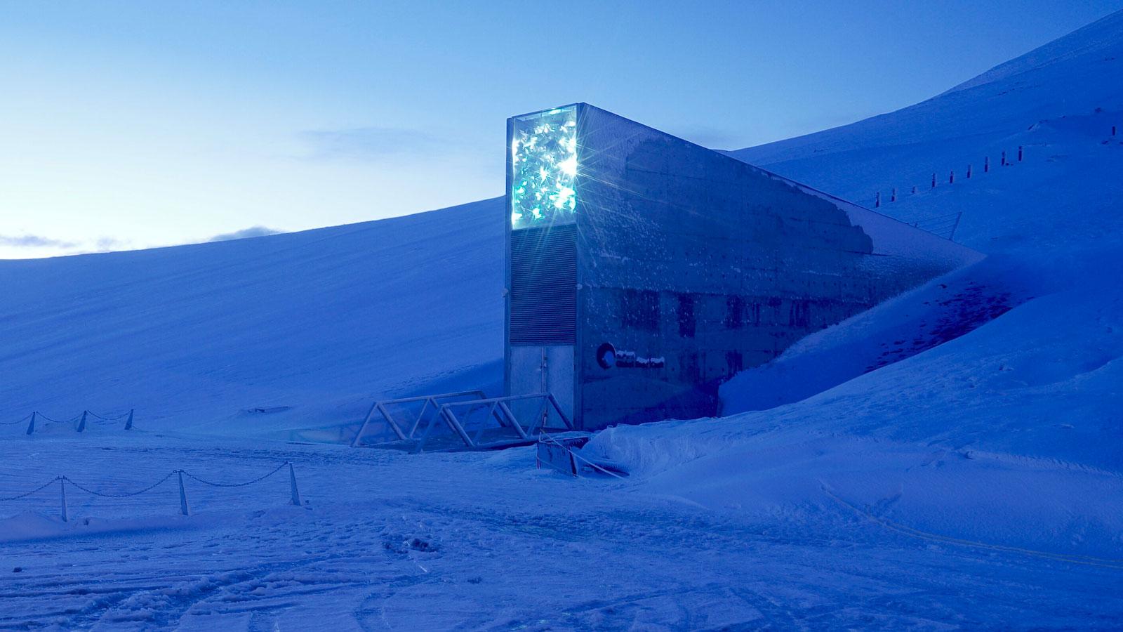 Dans les entrailles du bunker de l'Arctique qui pourrait empêcher la fin du monde
