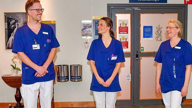 Suède : la princesse Sofia rejoint les rangs des soignants contre le coronavirus